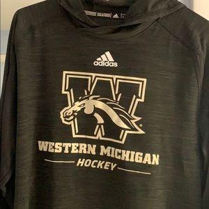 WMU Hockey lightweight hoody